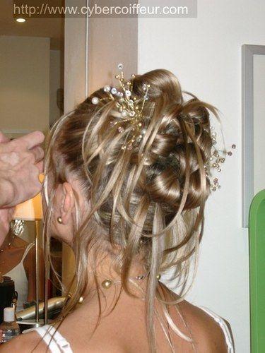 Les coiffures - Chignon invite mariage ...